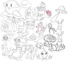 stupid random sketches 2 by yaung27 on deviantart