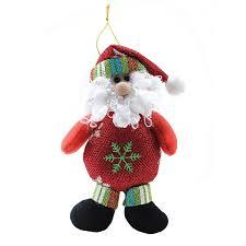 hanging ornaments decorations santa claus snowman alex nld