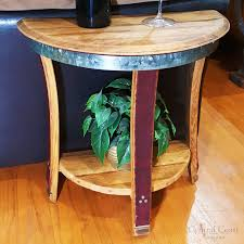 Half Moon Side Table Small Half Moon Side Table Central Coast Creations