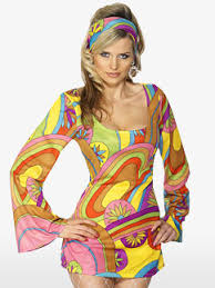 Flower Power Halloween Costume 60s Fancy Dress Hippy Fancy Dress Party Delights