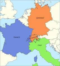 Map Of Germany And France by The Partition Scenario Of Switzerland Would Be Good Idea Where