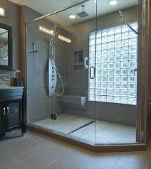 glass block bathroom designs glass block window in shower bathroom ideas glass
