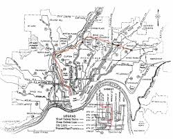 Ohio Canal Map by The Cincinnati Subway System