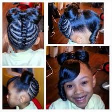black hairstyles without heat little black girl hairstyles 30 stunning kids hairstyles