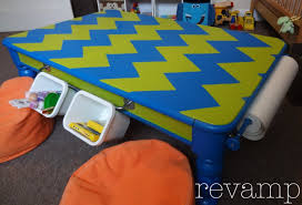 knockoff diy land of nod kid u0027s activity art table revamp homegoods