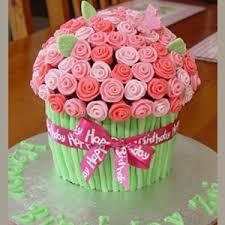 flower cake cake