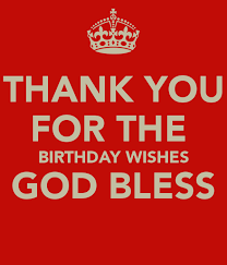 thank you for the birthday wishes god bless png 600 700 logo