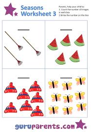 seasons worksheets worksheets
