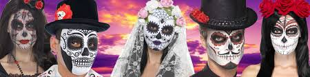 day of the dead accessories fancy dress costumes party supplies