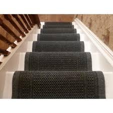 flooring interesting non slip stair treads in black for stair