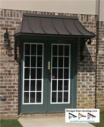 Patio Door Awnings The Juliet Gallery Metal Awnings Projects Gallery Of Awnings