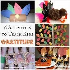 20 activities to teach gratitude