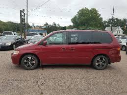 2003 honda odyssey minivan 2003 honda odyssey 4dr ex l mini w leather in sioux city ia