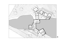 upside down floor plans gallery of oak pass main house walker workshop 37