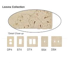travertine light switch plates resin faux stone wall switch plate outlet cover single gfci rocker