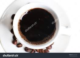 cup coffee grains top view stock photo 264702188 shutterstock