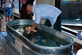 portable baptismal 4 baptisms by church plant grace sbc building s lobby
