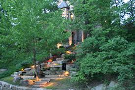 louisville outdoor steps stairs and hills landscape lighting