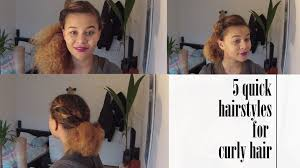 5 quick and easy hairstyles no bobby pins needed youtube