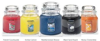 usa 2017 new yankee candle fragrances