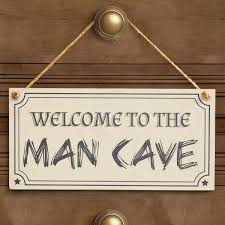 welcome to the man cave handmade rustic wood sign funny boys