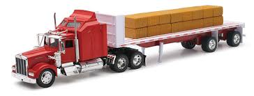kenworth w900 model amazon com kenworth w900 1 32 scale toy truck with flat bed
