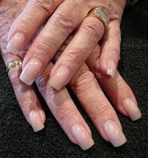 natural color acrylic nails nail art ideas