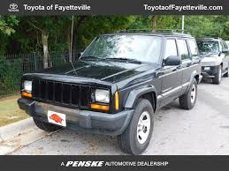 2001 used jeep cherokee 4dr sport at toyota of fayetteville
