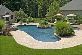 backyards ergonomic backyard pool landscaping pictures simple
