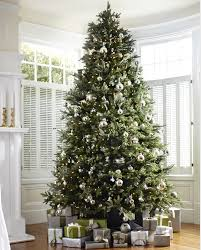nice decoration 10 foot pre lit christmas tree martha stewart