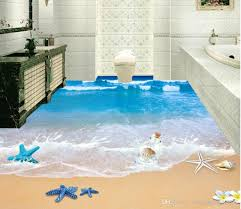 top classic 3d european style 3d beach bathroom with floor