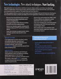 buy the web application hacker u0027s handbook finding and exploiting