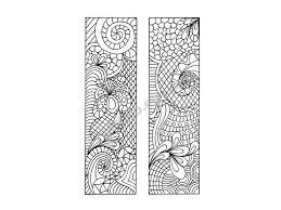 diy bookmarks zentangle inspired bookmarks print color