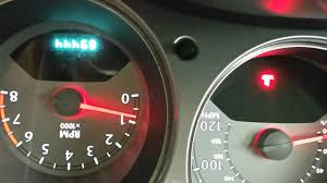 chrysler pt cruiser questions oil pressure light acting oldly