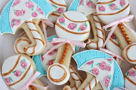sugar bea u0027s blog baby shower cookies