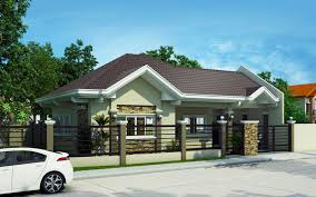 Bungalow Houses Pinoy House Plans Series 2015014 Is A 4 Bedroom Bungalow House