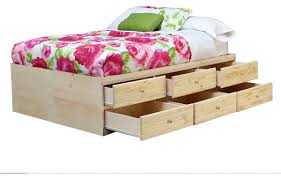 Queen Storage Beds With Drawers Queen Storage Bed With 12 Drawers Contemporary Bed Frames By