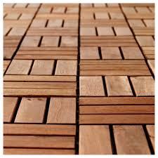 Teak Patio Flooring by Runnen Floor Decking Outdoor Ikea