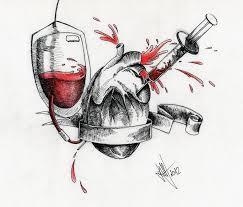 heart tattoo by xxhellhoundxx on deviantart