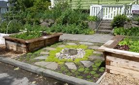 garden stunning rock landscaping ideas for front yard rock