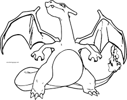 pokemon free printable coloring pages charizard coloring pages charizard pokemon coloring page free