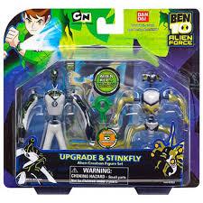 ben 10 alien creation chamber figure upgrade stinkfly