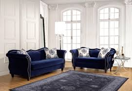 blue living room set home design ideas