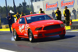 fastest stock mustang made exclusive factory stock is fast blast at 2017 gatornationals