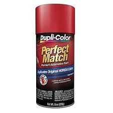 duplicolor bha0975 for honda code r513 rallye red 8 oz aerosol