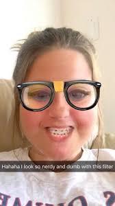Braces Meme Girl - snapchat s nerd filter finds its doppleganger girl handles it like