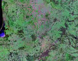 Map Of Lithuania Lithuania Map And Satellite Image