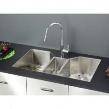 Triple Bowl Undermount Sink Foter - Triple sink kitchen