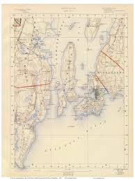 Rhode Island On Map Old Rhode Island Usgs Maps 1891 Walker Atlas