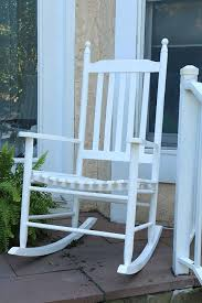 Jefferson Rocking Chair 100 Wooden Porch Rocking Chairs Chair Magnificent White